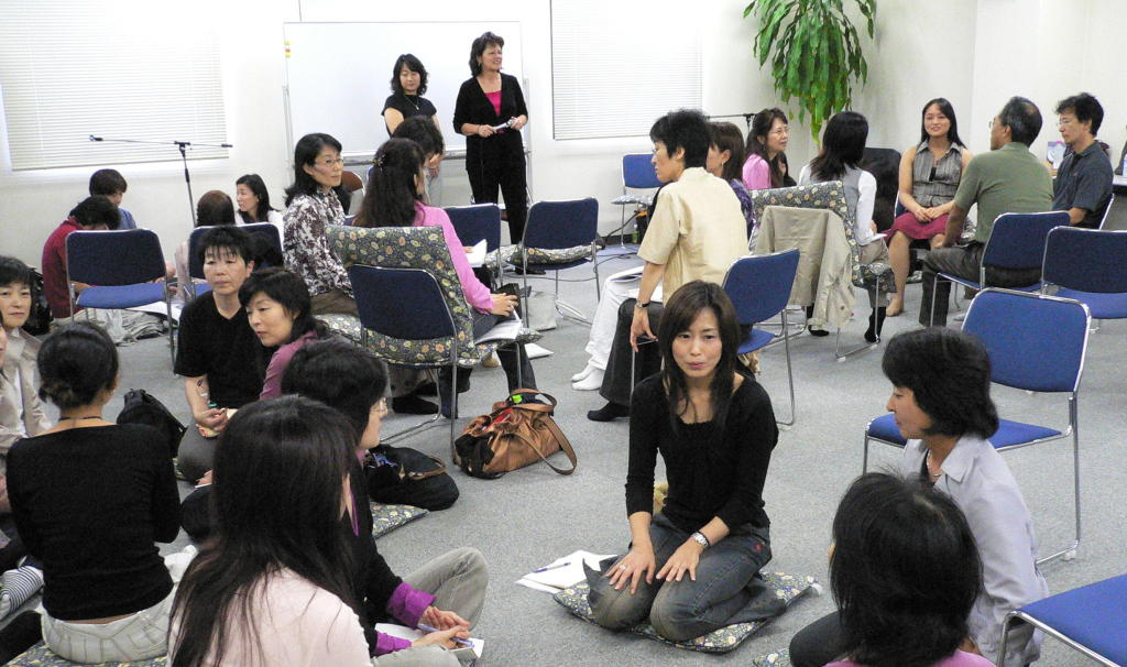 Group working Japan